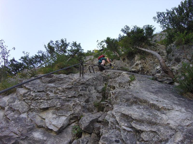 Klettersteig Via Kapf : Klettersteig via kapf else