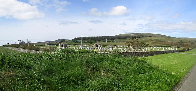 Lyness Royal Naval Cemetery, Hoy, Orkney