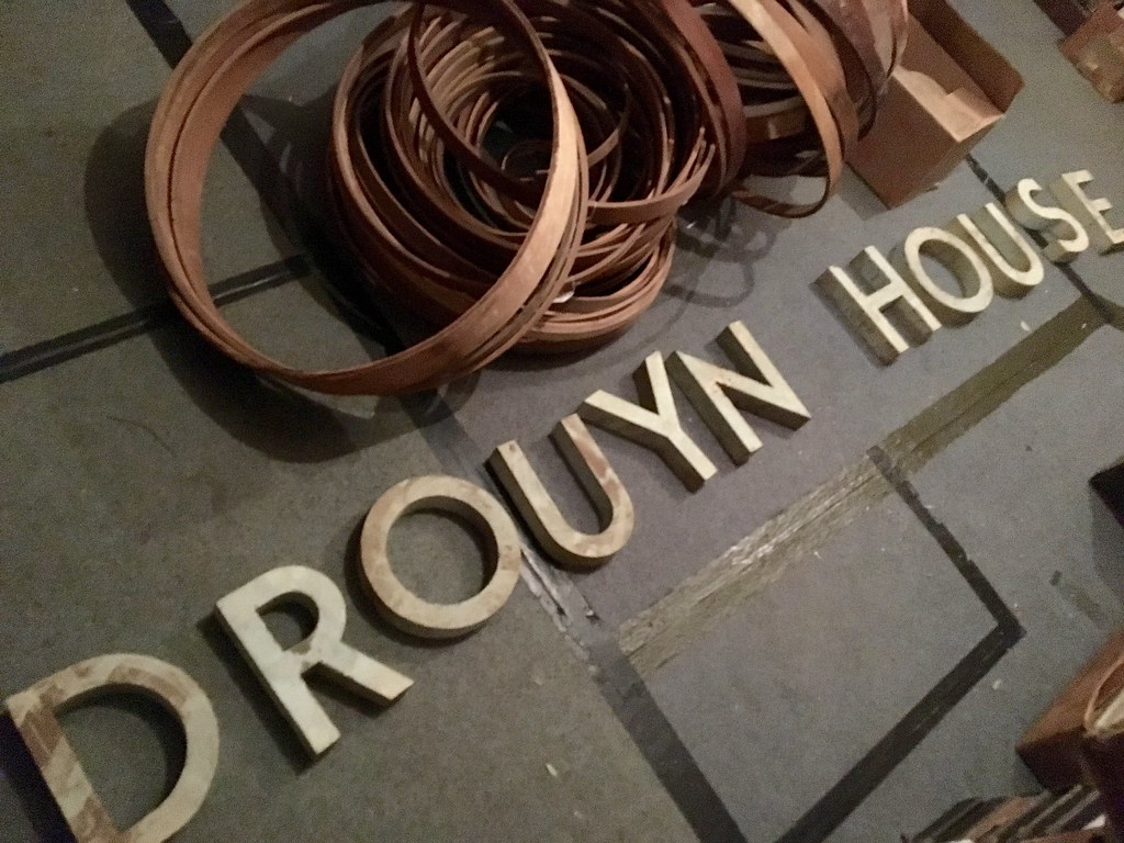 Drouyn House sign