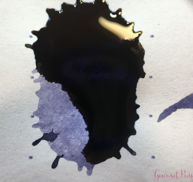Ink Shot Review Diamine Anniversary Lilac Night @AppelboomLaren 10