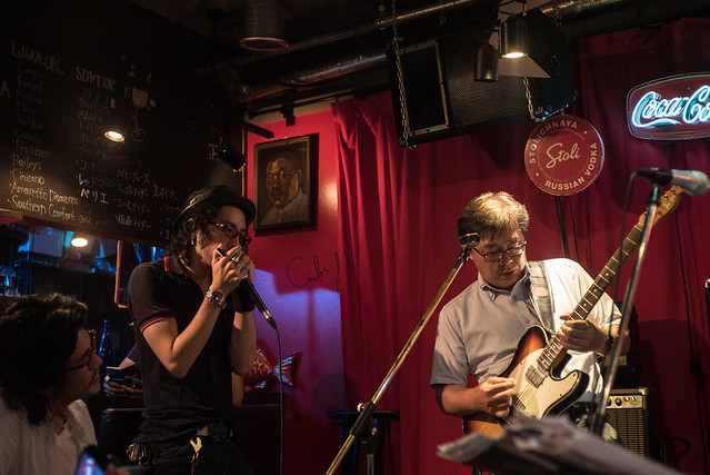 T.G.I.F. Blues Session at Terraplane, Tokyo, 14 Jul 2017 -00140