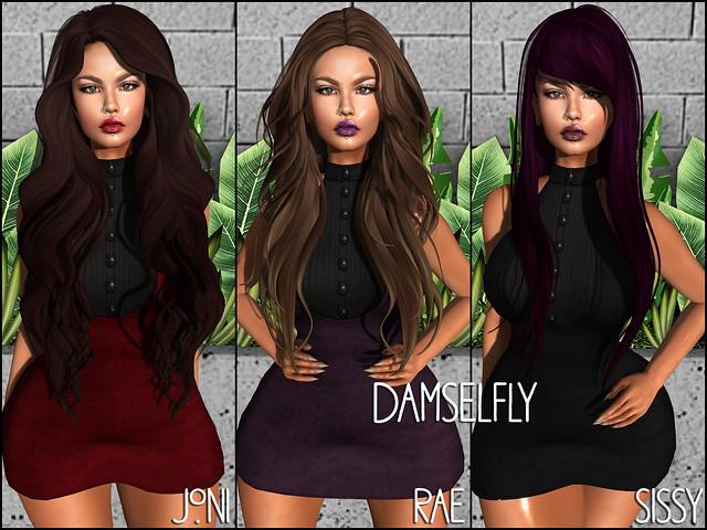 damselfly - HAIR FAIR 2017
