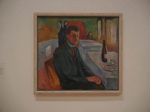 DSCN9048 _ Self-Portrait with a Bottle of Wine, 1906, Edvard Munch, SFMOMA