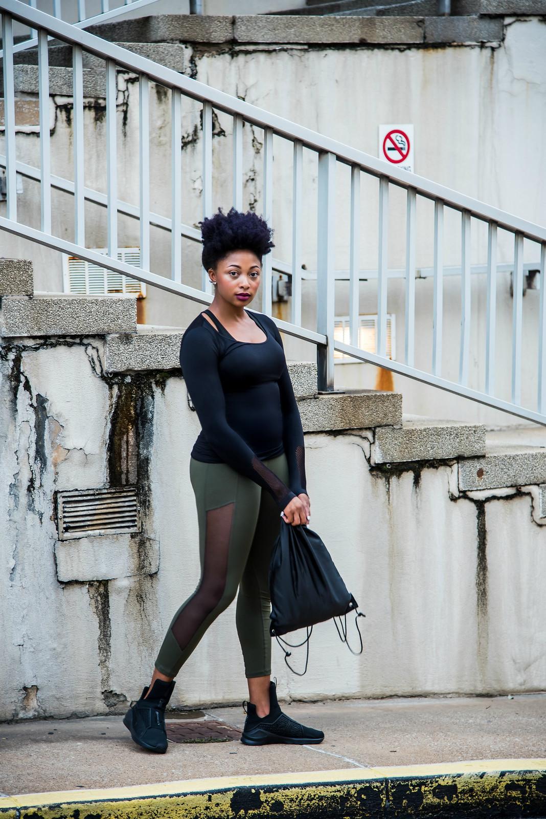 Texas street style blogger