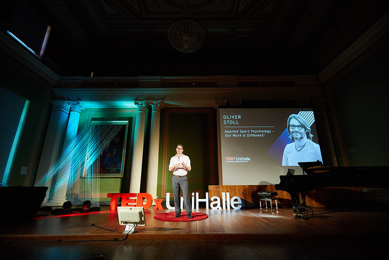 Oliver Stoll on stage