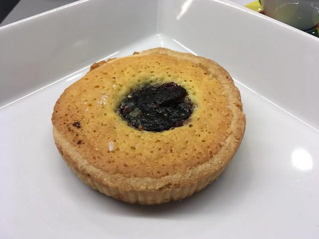 Blueberry almond tart - Ferrari Spazio Bollicine