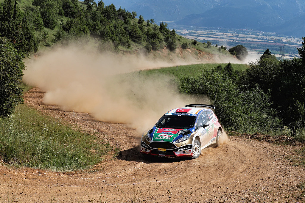 05 BOSTANCI Murat (tur) and VATANSEVER Onur (tur) action during the European Rally Championship 2017 - Acropolis Rally Of Grece - Loutraki From June 2 to 4 in Loutraki - Photo Gregory Lenormand / DPPI