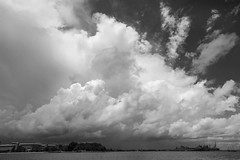 Storm over Portsmouth