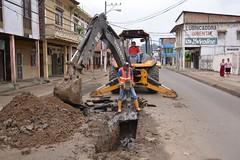 Aguas del Chuno arregló el daño en calle Bolívar