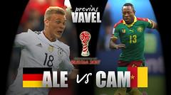 Previa Alemania - Camerún