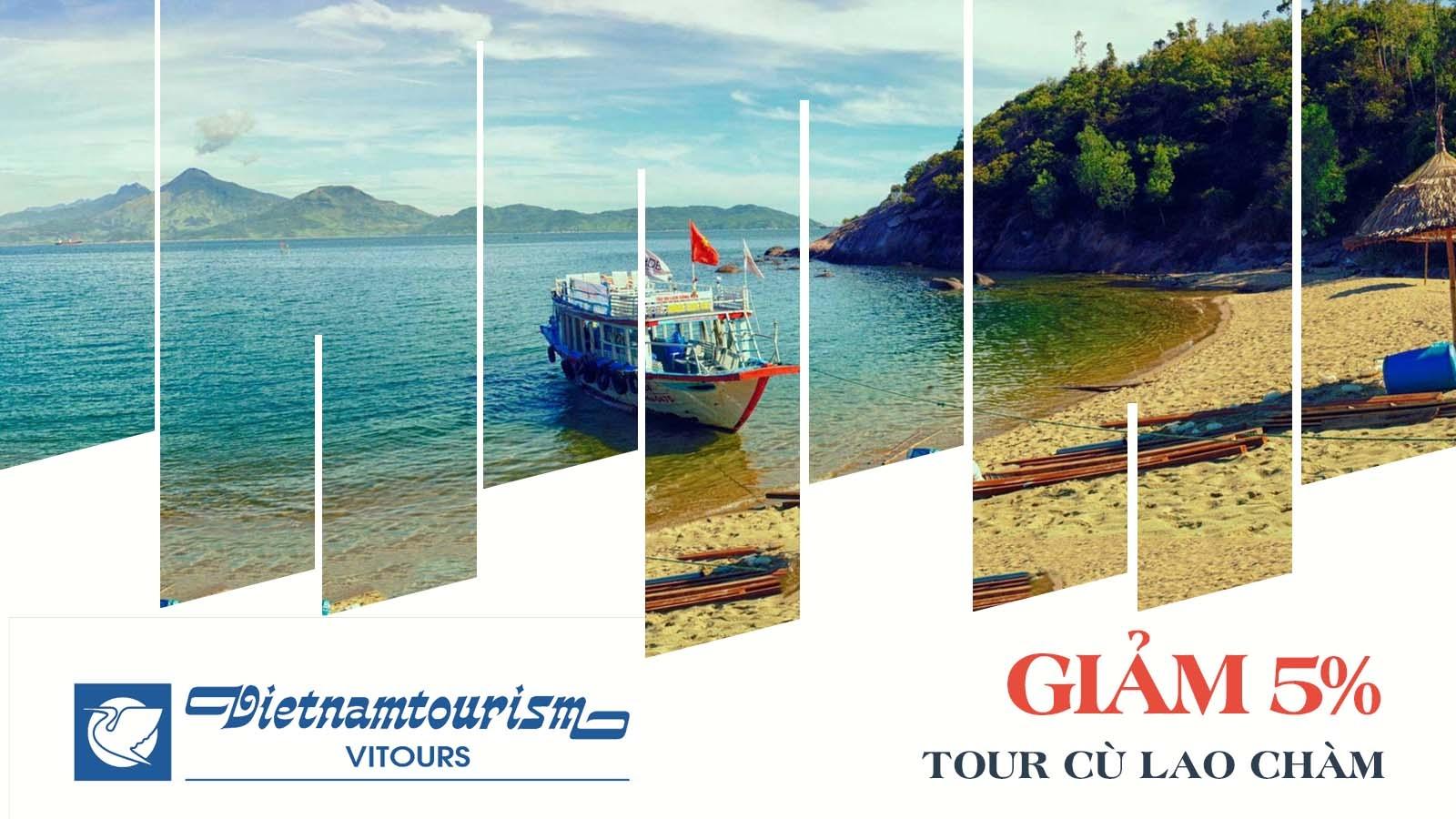 Vitours giảm 5% tour Cù Lao Chàm 8