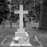 The grave of Captain Cuthbert S Nesham