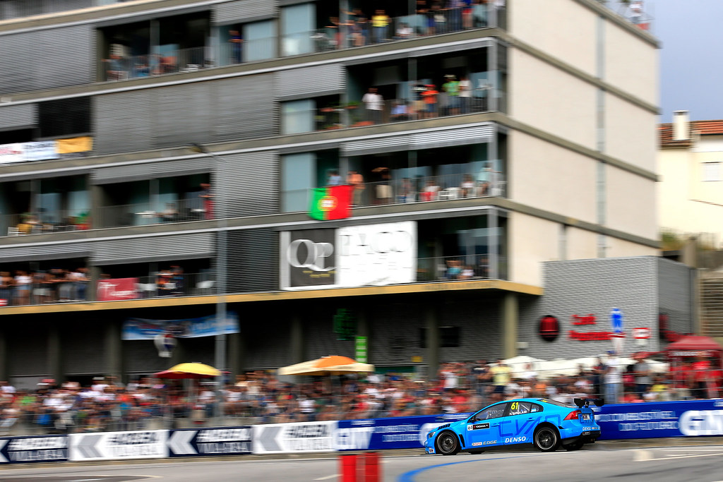 61 GIROLAMI Nestor (arg) Volvo S60 Polestar team Polestar Cyan Racing action during the 2017 FIA WTCC World Touring Car Championship race of Portugal, Vila Real from june 23 to 25 - Photo Paulo Maria / DPPI