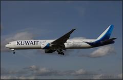 9K-AOE Boeing 777-369(ER) Kuwait Airways
