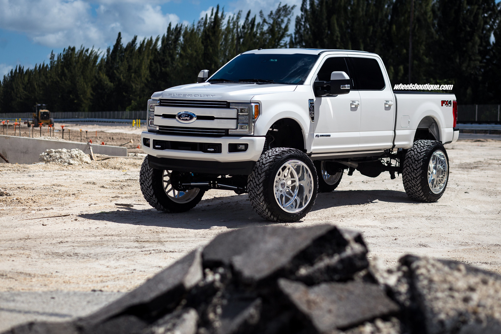 Miami Cowboy Lifted Ford F250 Platinum By Wheels Boutique