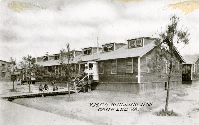 Y.M.C.A. Building No 81, Camp Lee, Va.