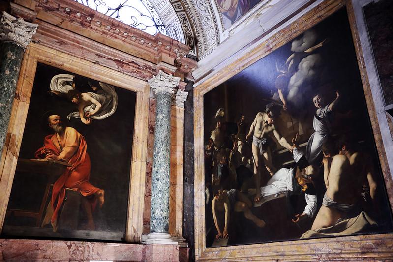 Caravaggio's St Matthew