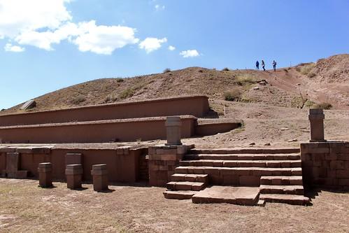 Pirámide de Akapana, Tiahuanaco