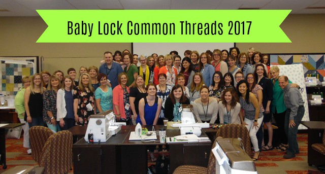 Baby Lock Common Threads 2017
