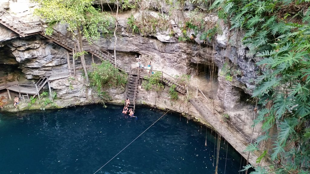 Cenote X'Canche, Mexico