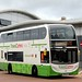 Lloyds Coaches SN15ETE Wrexham bus station 3 July 2017