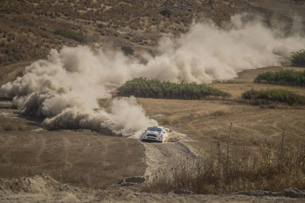 03 AL ATTIYAH Nasser (qat) and BAUMEL Matthieu (fra) NASSER AL-ATTIYAH FORD FIESTA R5 action during the 2017 European Rally Championship ERC Cyprus Rally,  from june 16 to 18  at Nicosie, Cyprus - Photo Gregory Lenormand / DPPI