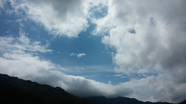 비갠후 | 정중동 구름풍경