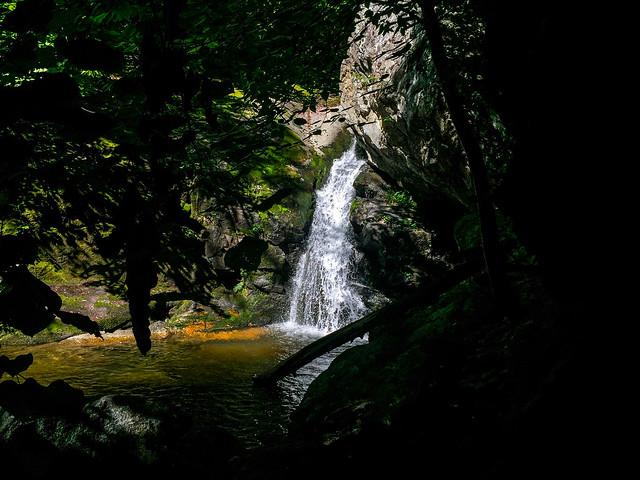 Cave Falls or Hazel River Falls