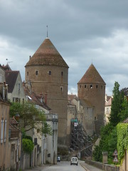 Ramparts in Semur-en-Auxois
