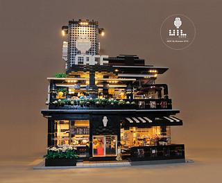 去喝杯咖啡,放鬆一下吧~~樂高搭建而成超有氣氛的咖啡廳「UiL Cafe」 實在太精緻了啊!!