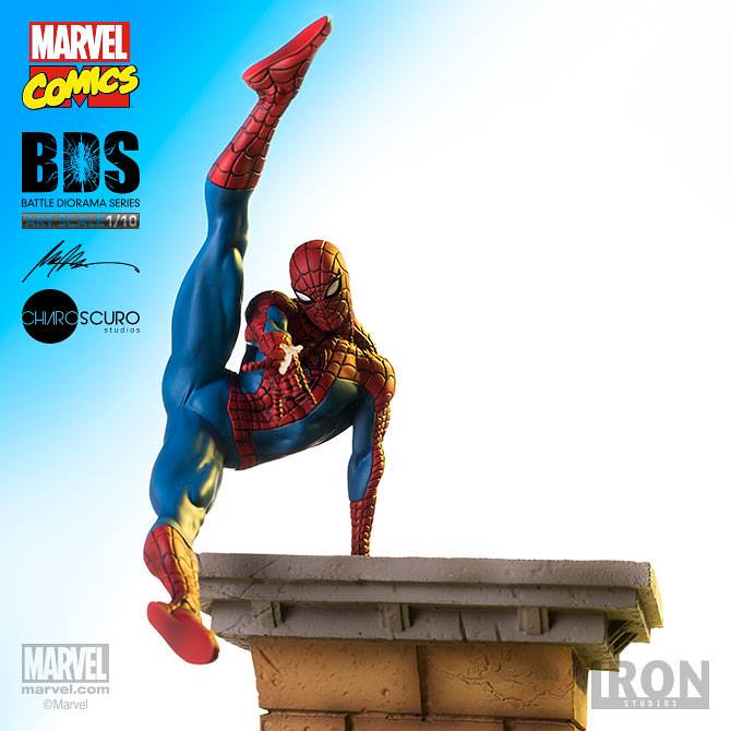 Iron Studios Battle Diorama 系列【蜘蛛人】Spider-Man BDS Art Scale 1/10 比例決鬥場景作品