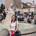In Piazza del Popolo