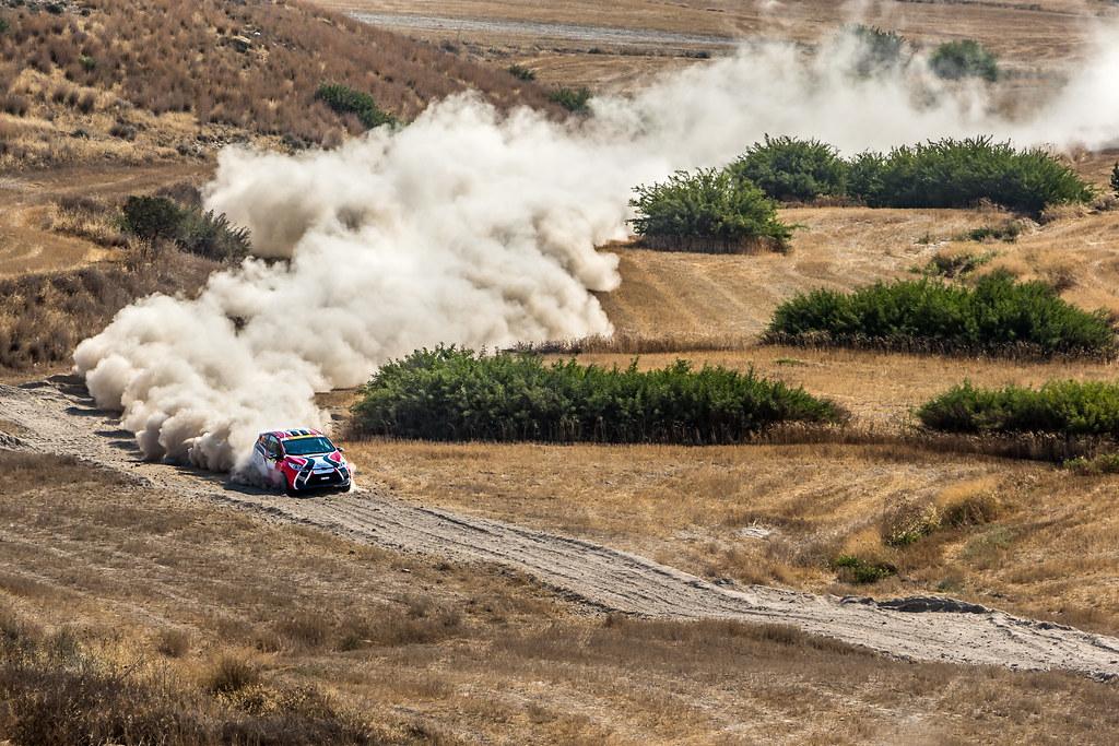 22 FAHRI Deniz (tur) and KALFAOGLU Baris (tur) DENIZ FAHRI FORD FIESTA R2 action during the 2017 European Rally Championship ERC Cyprus Rally,  from june 16 to 18  at Nicosie, Cyprus - Photo Thomas Fenetre / DPPI