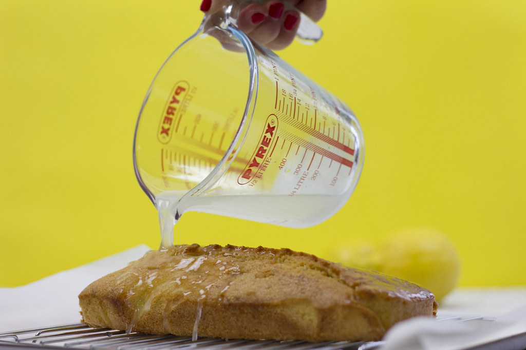 Gin Glaze for Lemon Cake