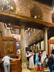 Saints Sergius and Bacchus Church (Abu Serga). Cairo, Egypt.