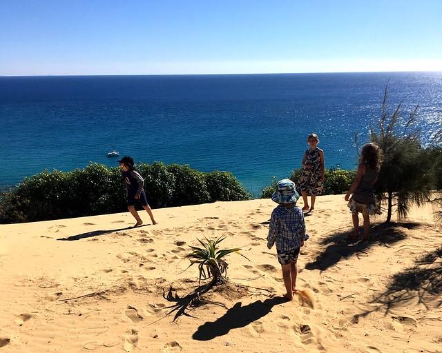 Cousin meetup - Moreton Island, Queensland.