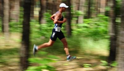 Račická aréna patří i triatlonu a legenda Vabroušek vzpomíná