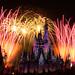 Fireworks at #MagicKingdom Disney 2017 by Mickey Views