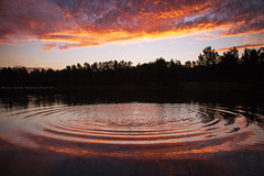 Rippled Sunset    YARRAMUNDI    NSW