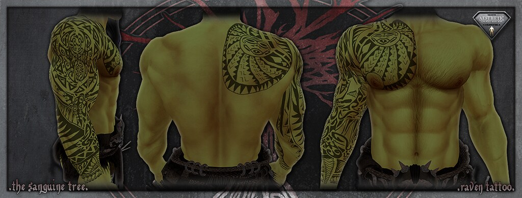 [ new release – aesthetic island tattoo ] - SecondLifeHub.com