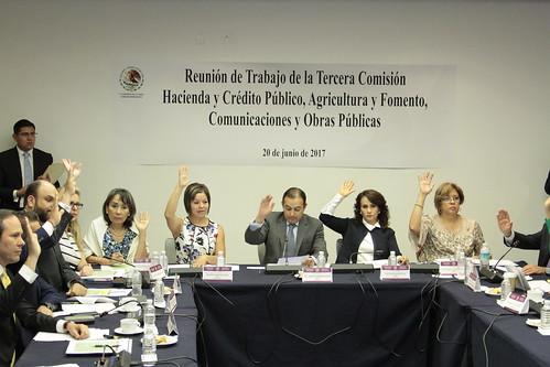 Tercera Comisión de la Comisión Permanente 20/jun/17