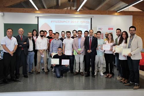 Acto de Clausura Programa YUZZ Cartagena 2017