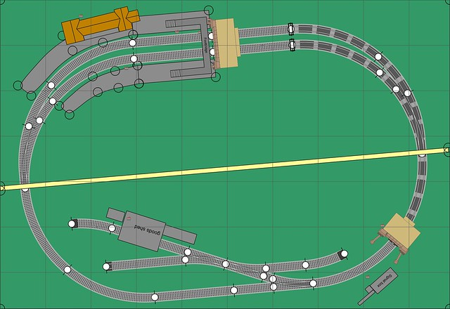 N Gauge 3ft 3in x 2ft 3in Track Plan Uncovered