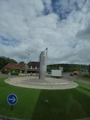 Route de Semur, Montbard, Burgundy - sculpture - Photo of Bierry-les-Belles-Fontaines