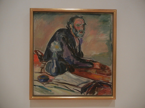 DSCN9149 _ Man with Bronchitis, 1920, Edvard Munch, SFMOMA