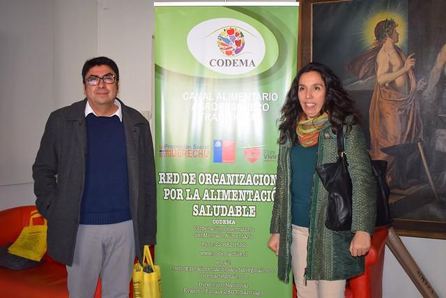 Seminario Red de Organizaciones para la Alimentación Saludable. Codema.