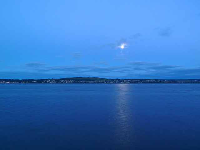 River Tay Blue Hour, Panasonic DMC-TZ8