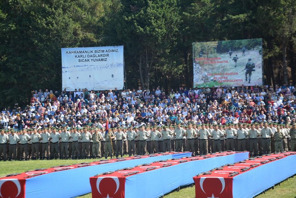 116. Jandarma Eğitim Komutanlığı Yemin Töreni (2)