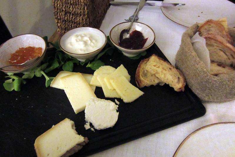 Obika cheese platter
