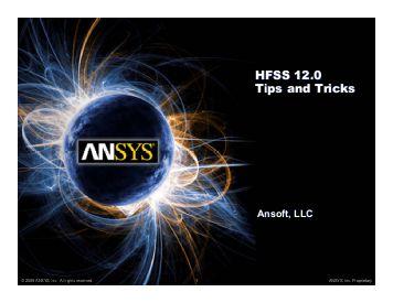 ANSYS HFSS 12 x86 x64